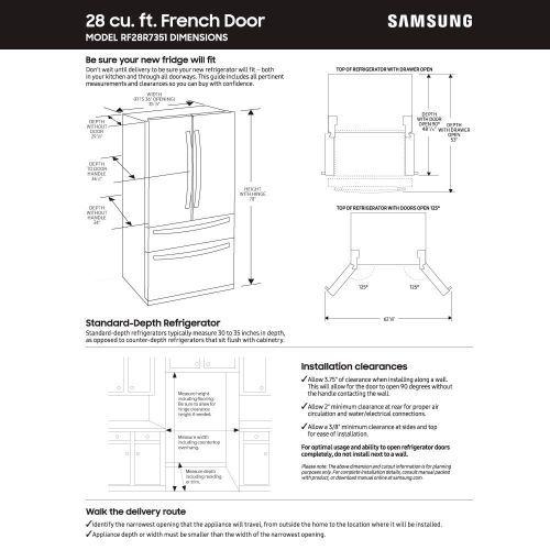 small resolution of samsung 27 8 cu ft 4 door french door refrigerator with food showcase fingerprint resistant stainless steel rf28r7351sr aa best buy