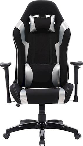 mesh gaming chair costco baby corliving high back ergonomic black lof 800 g best buy silver front standard