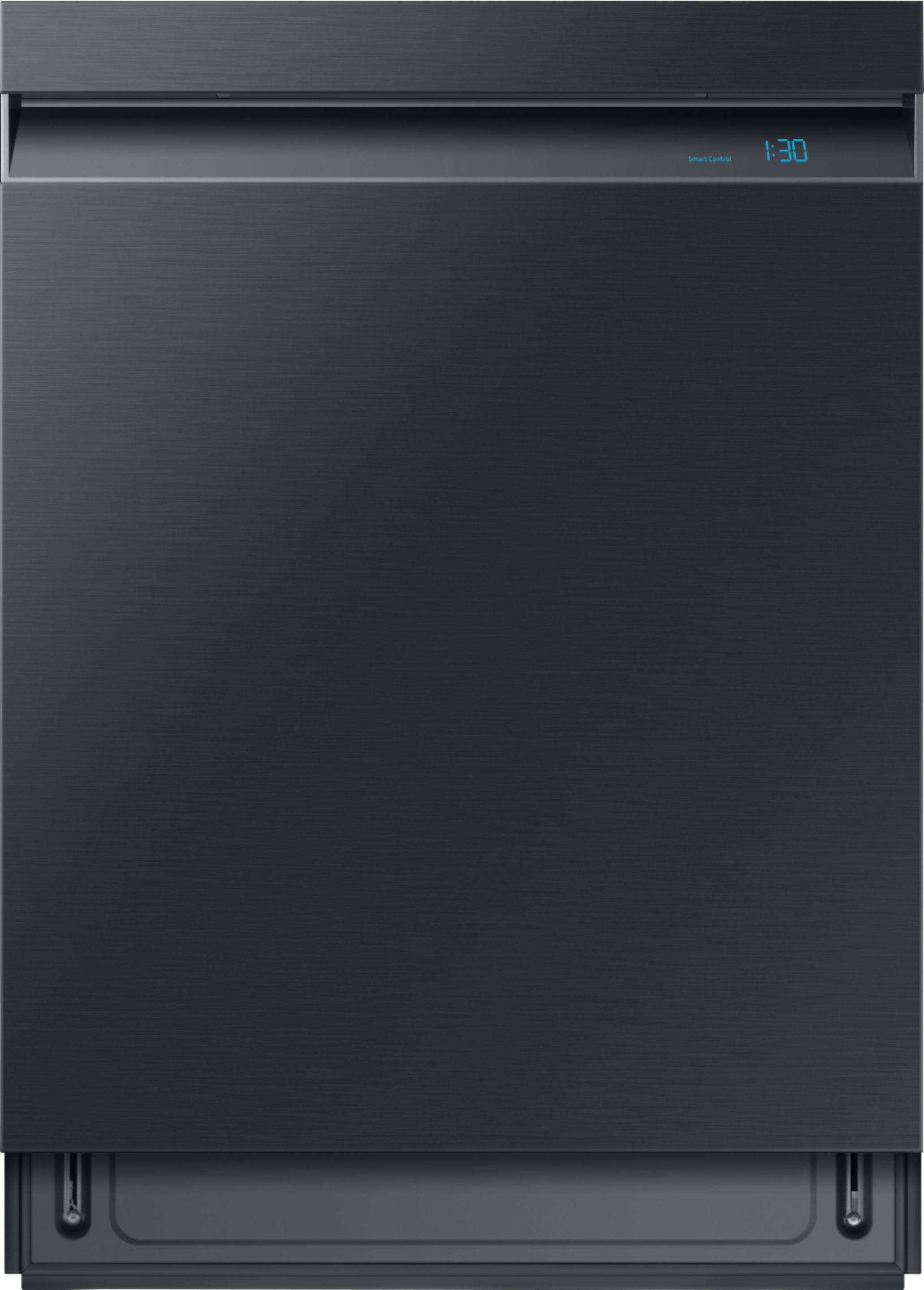 Samsung Dishwasher Kick Plate : samsung, dishwasher, plate, Samsung, Linear, Control, Built-In, Dishwasher, AutoRelease, Fingerprint, Resistant, Black, Stainless, Steel, DW80R9950UG