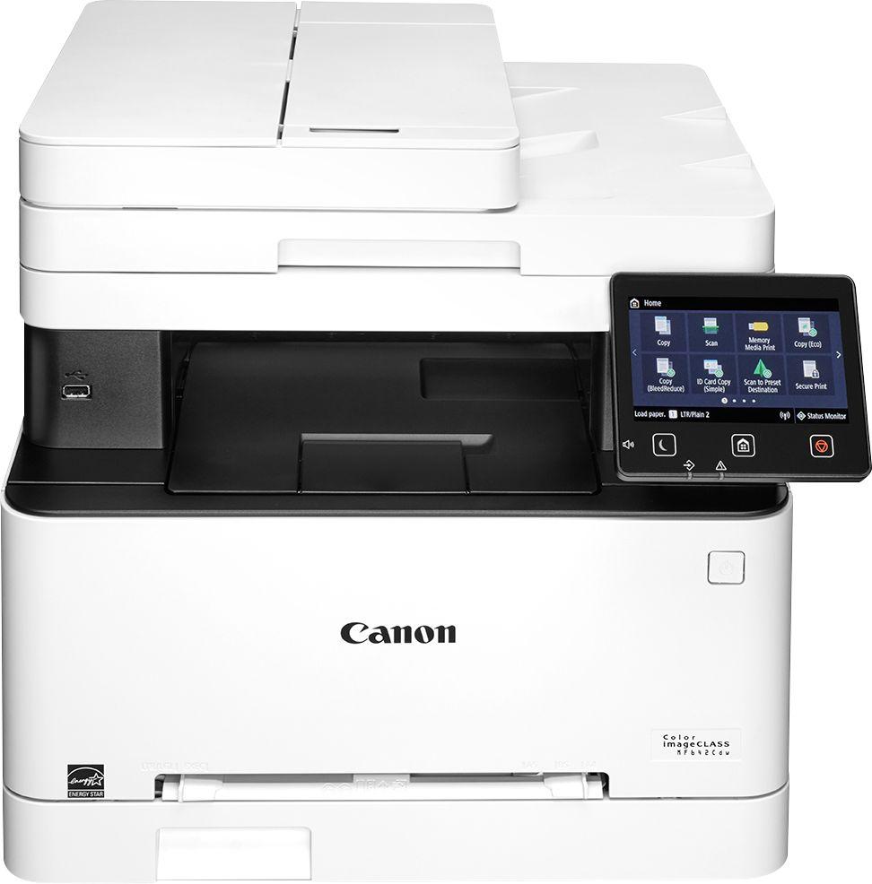 Canon - imageCLASS MF642Cdw Wireless Color All-In-One Printer - White