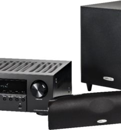 polk audio blackstone tl1600 and denon avr s540bt home theater package 5 1 ch home theater speaker system black tl1600 avrs540bt system best buy [ 7830 x 2868 Pixel ]