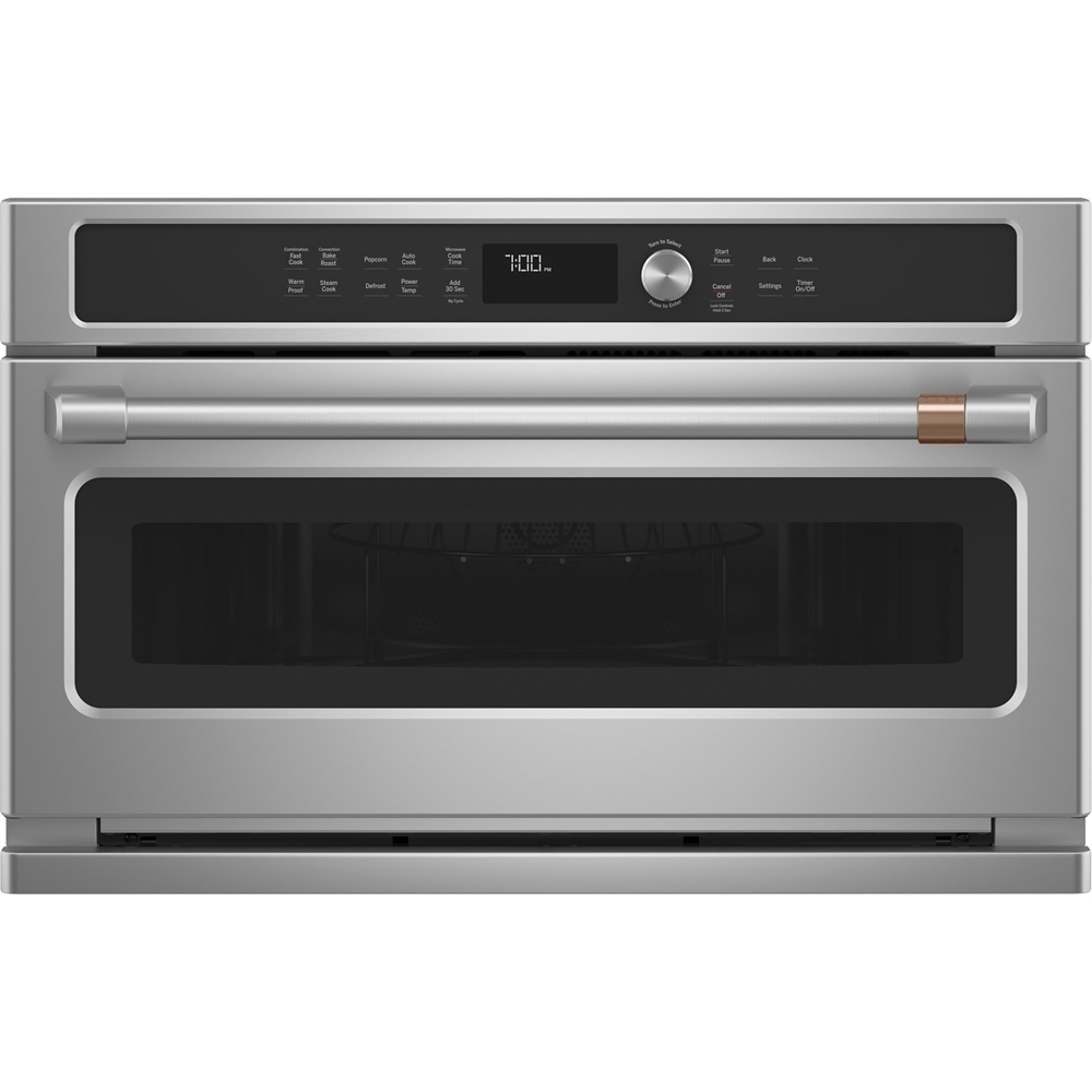 cafe 1 7 cu ft built in microwave stainless steel