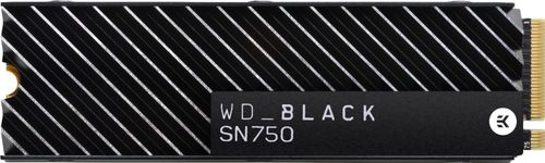 WD - WD_BLACK SN750 NVMe 1TB Internal PCIe Gen 3 x 4 Solid State Drive for Desktops Only