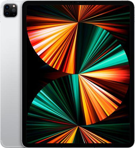 Apple - 12.9-Inch iPad Pro (Latest Model) with Wi-Fi + Cellular - 256GB (Verizon) - Silver