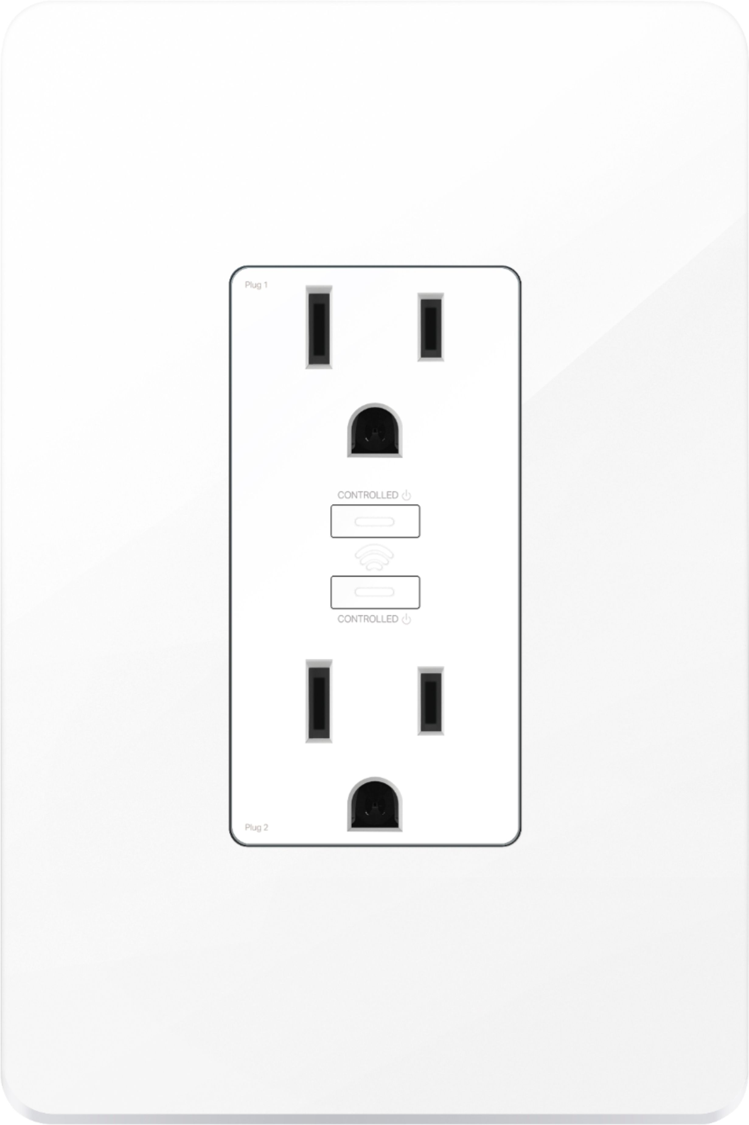 Best Buy: TP-Link Kasa Smart Wi-Fi Power Outlet White KP200