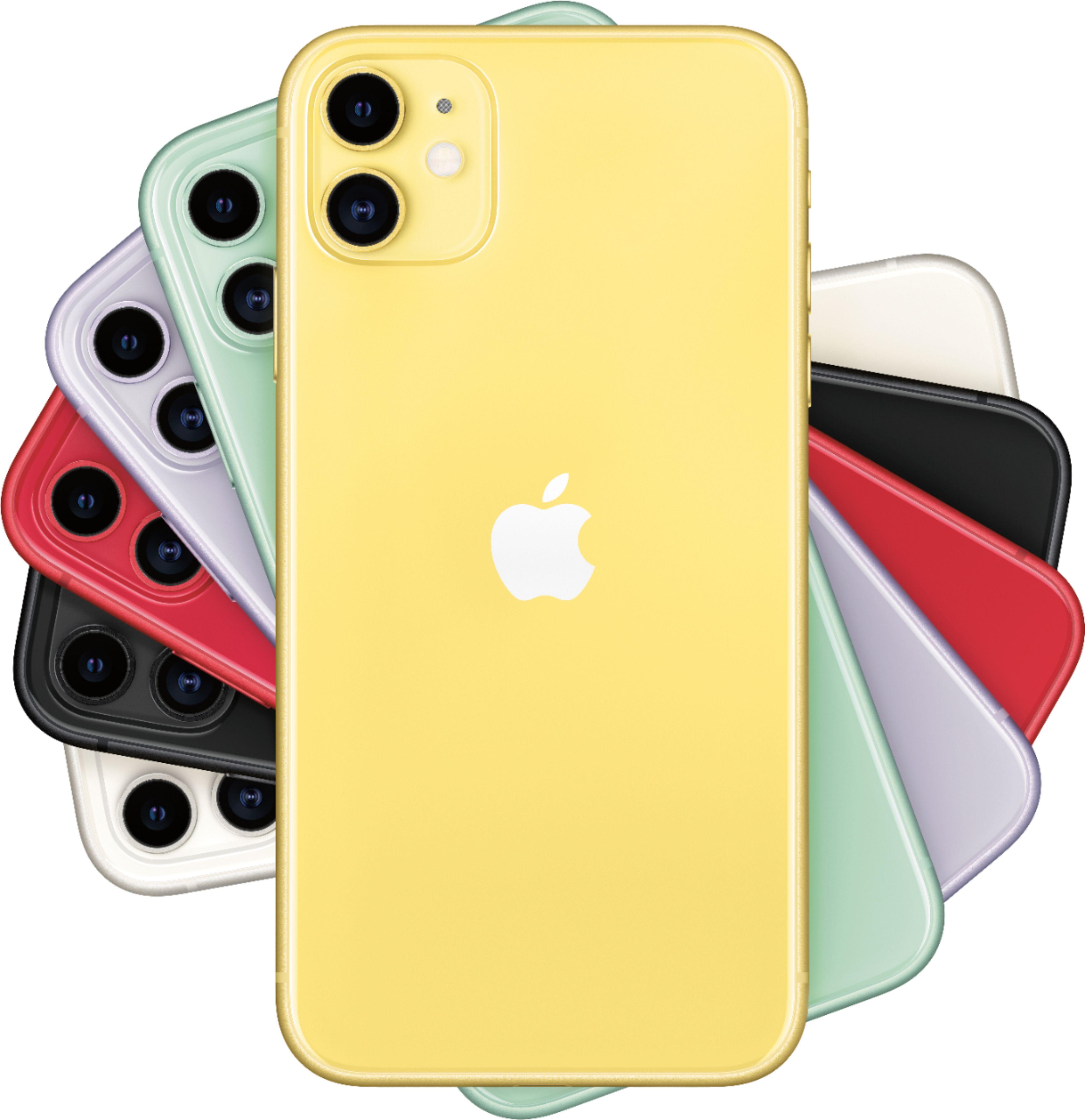 Apple iPhone 11 64GB Yellow (Verizon) MWLA2LL/A - Best Buy