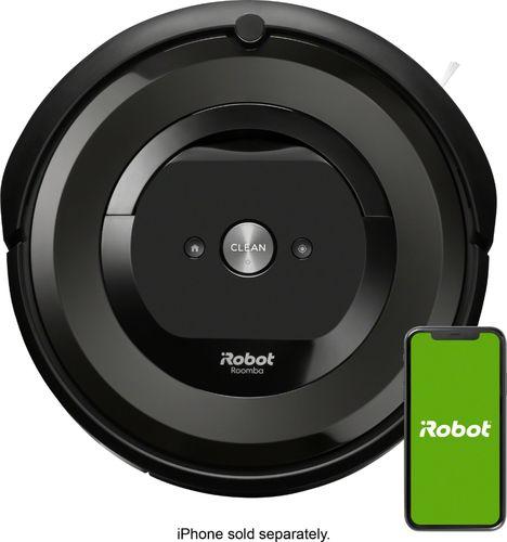 iRobot - Roomba e5 Wi-Fi Connected Robot Vacuum - Charcoal
