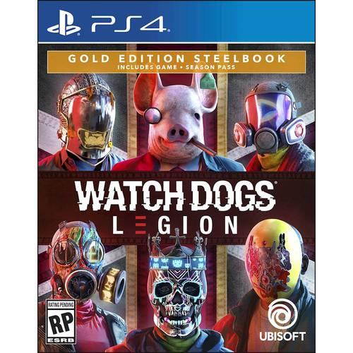 Watch Dogs: Legion Gold Edition SteelBook - PlayStation 4, PlayStation 5