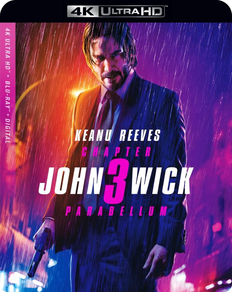 John Wick: Chapter 3 - Parabellum [Includes Digital Copy] [4K Ultra HD Blu-ray/Blu-ray] [2019]
