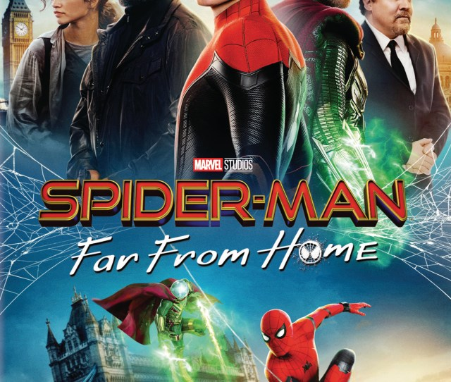 Spider Man Far From Home Dvd  Best Buy