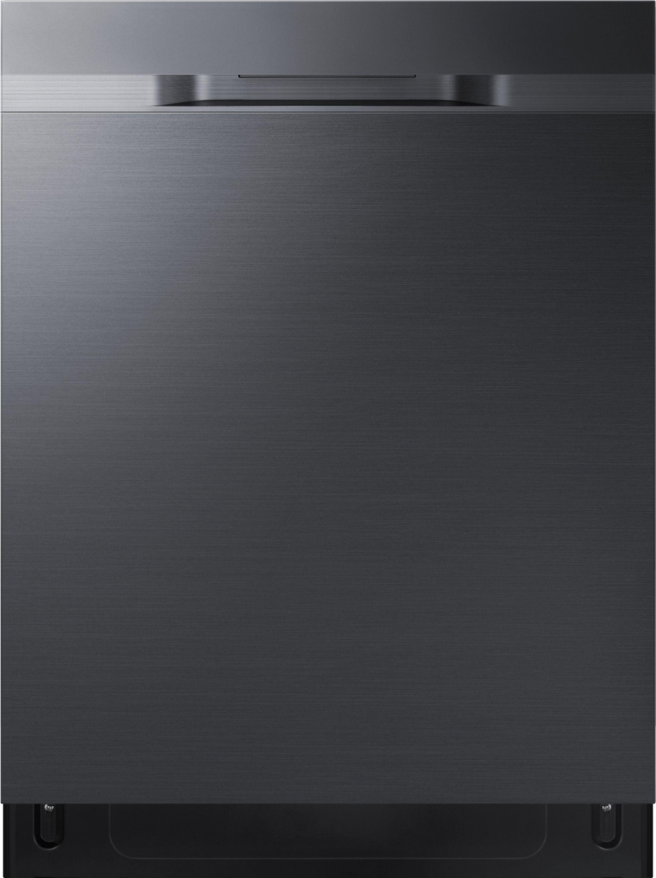 Samsung Dishwasher Kick Plate : samsung, dishwasher, plate, Samsung, StormWash™, Control, Built-In, Dishwasher, AutoRelease, Rack,, Black, Stainless, Steel, DW80R5060UG