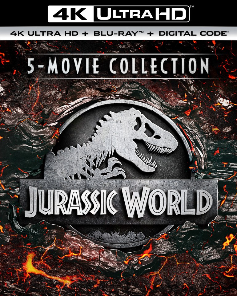Jurassic World 5-Movie Collection [Includes Digital Copy] [4K Ultra HD Blu-ray]