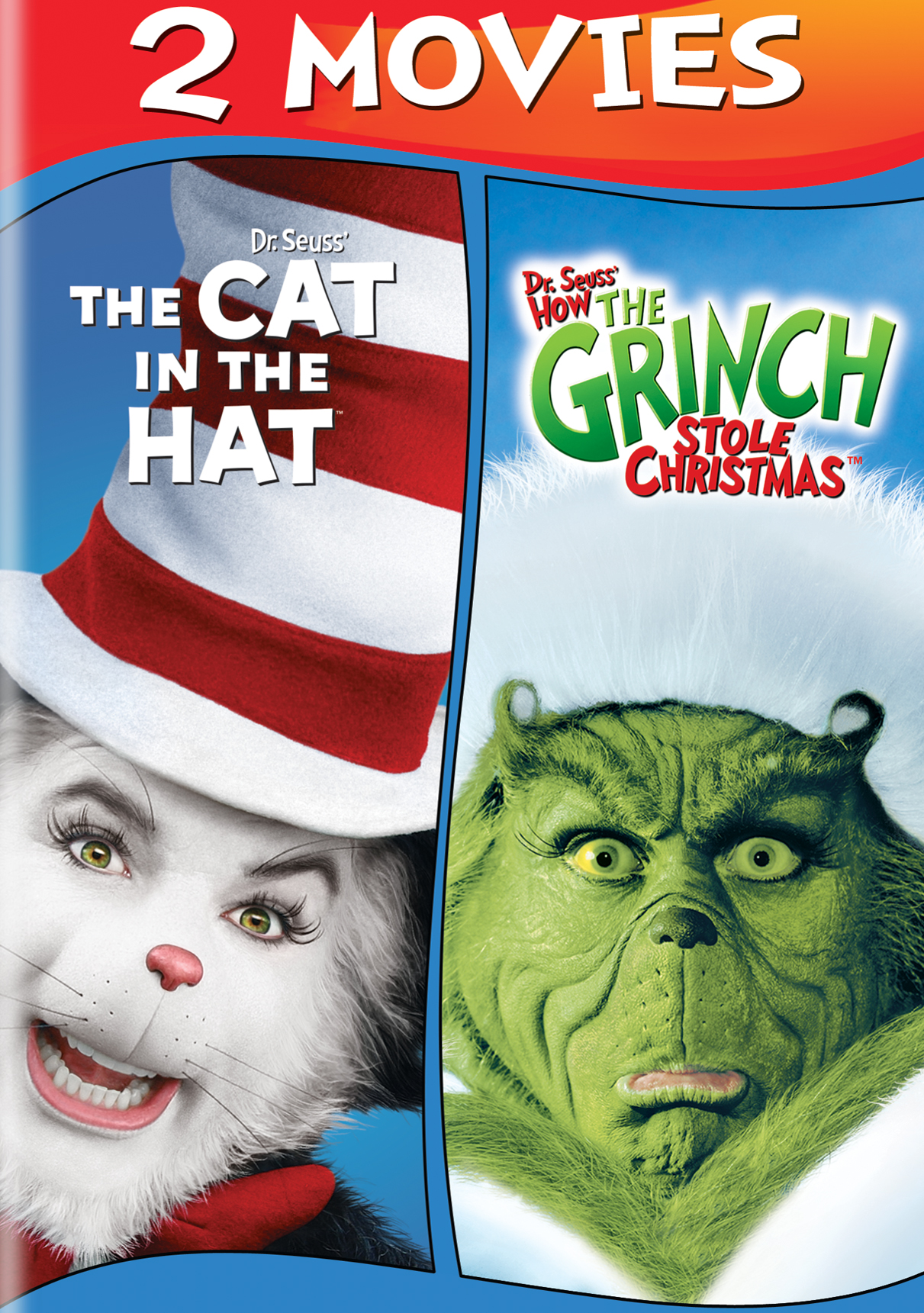 Dr Seuss The Cat In The Hat Dr Seuss How The Grinch
