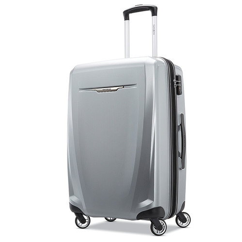 "Samsonite - Winfield 3 DLX 27"" Spinner - Silver"