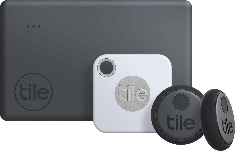 tile essentials 2020 4 pack 1 mate 1 slim 2 stickers white gray black