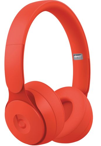 Beats by Dr. Dre - Solo Pro More Matte Collection Wireless Noise Cancelling On-Ear Headphones - Red