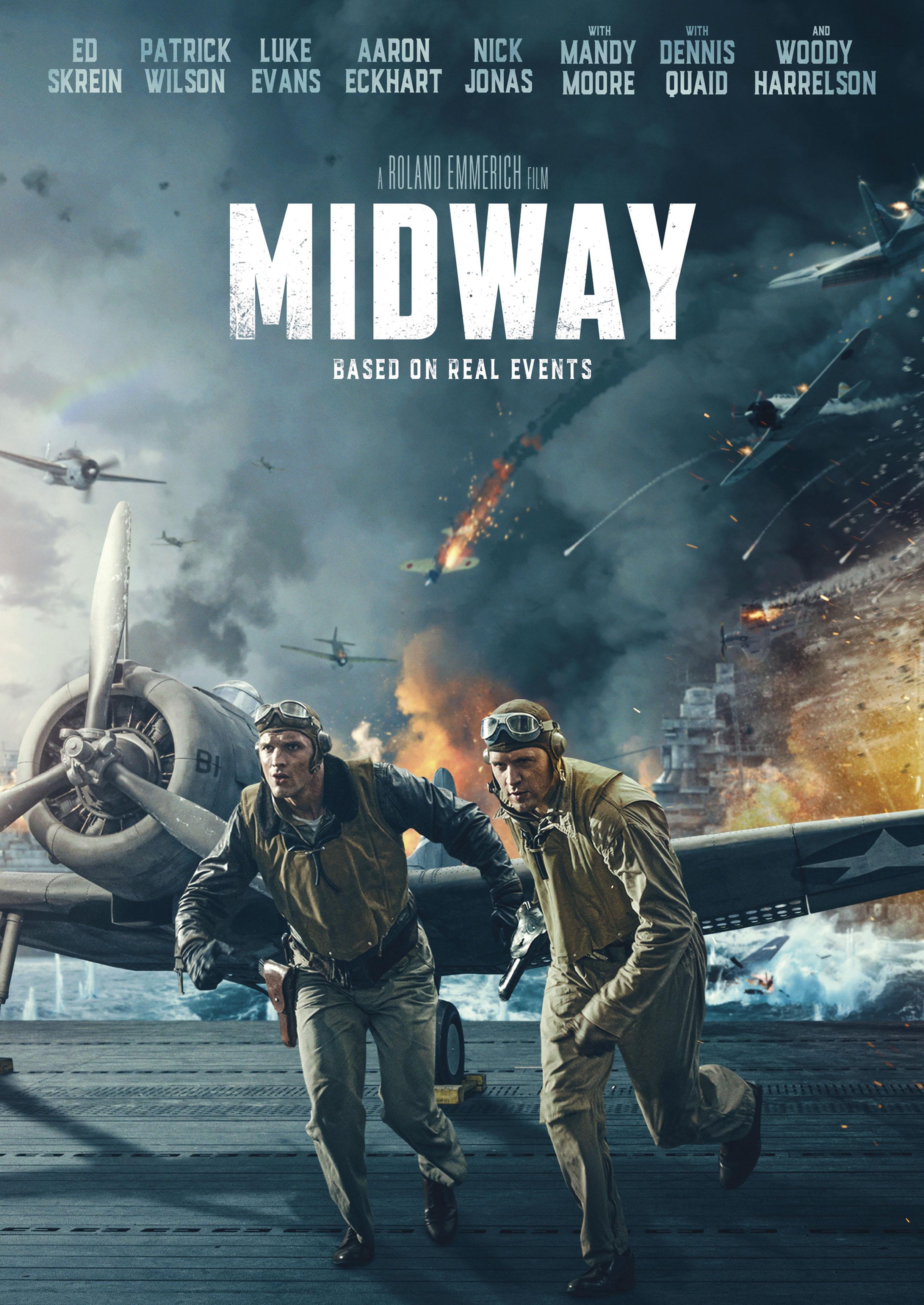 Midway Film 2019 Streaming : midway, streaming, Midway, [DVD], [2019]