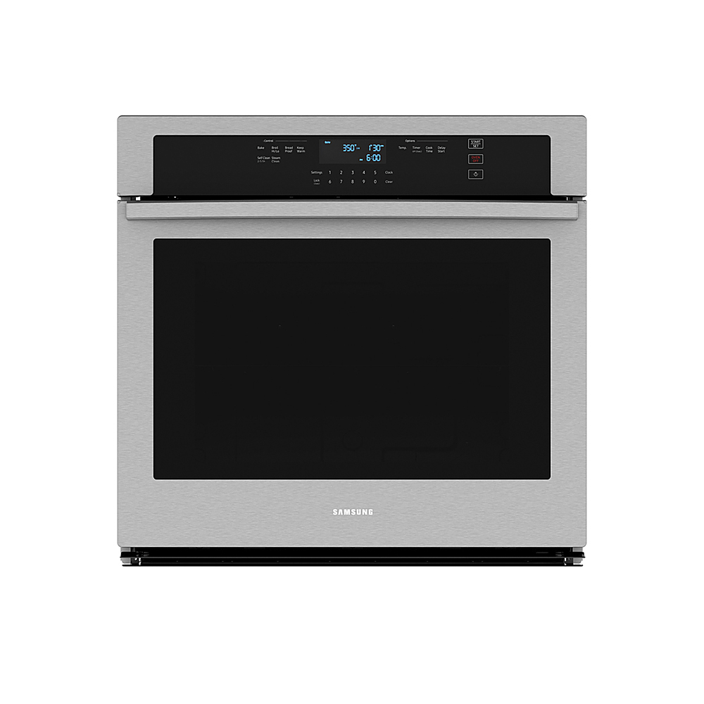 samsung 30 built in single wall oven with wifi stainless steel