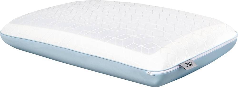 sealy duochill cooling memory foam bed pillow