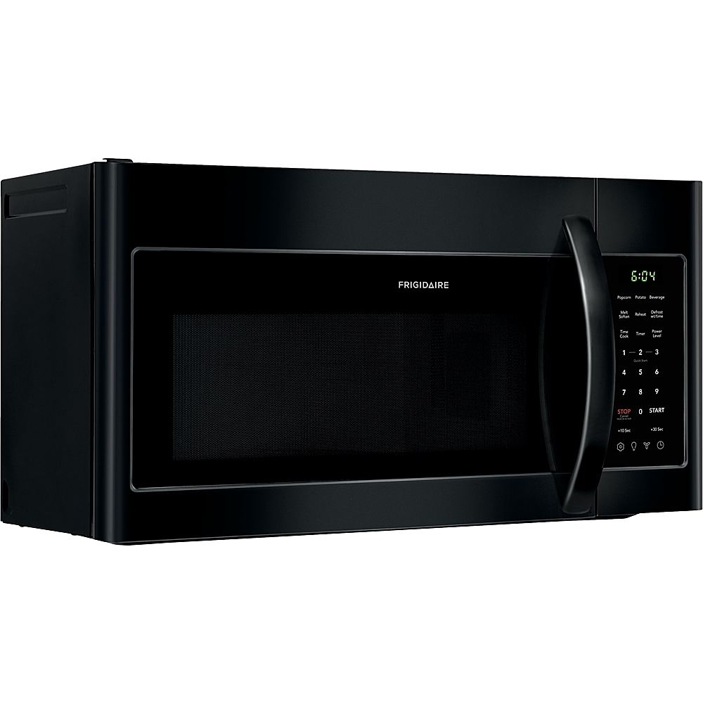 frigidaire 1 8 cu ft over the range microwave black
