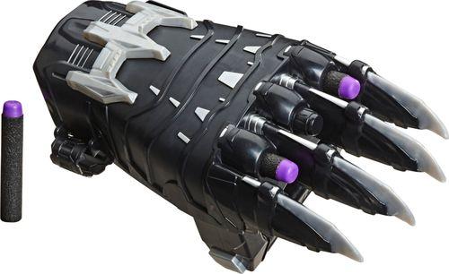 Nerf - Power Moves Marvel Avengers Black Panther Power Slash Dart-Launching Toy