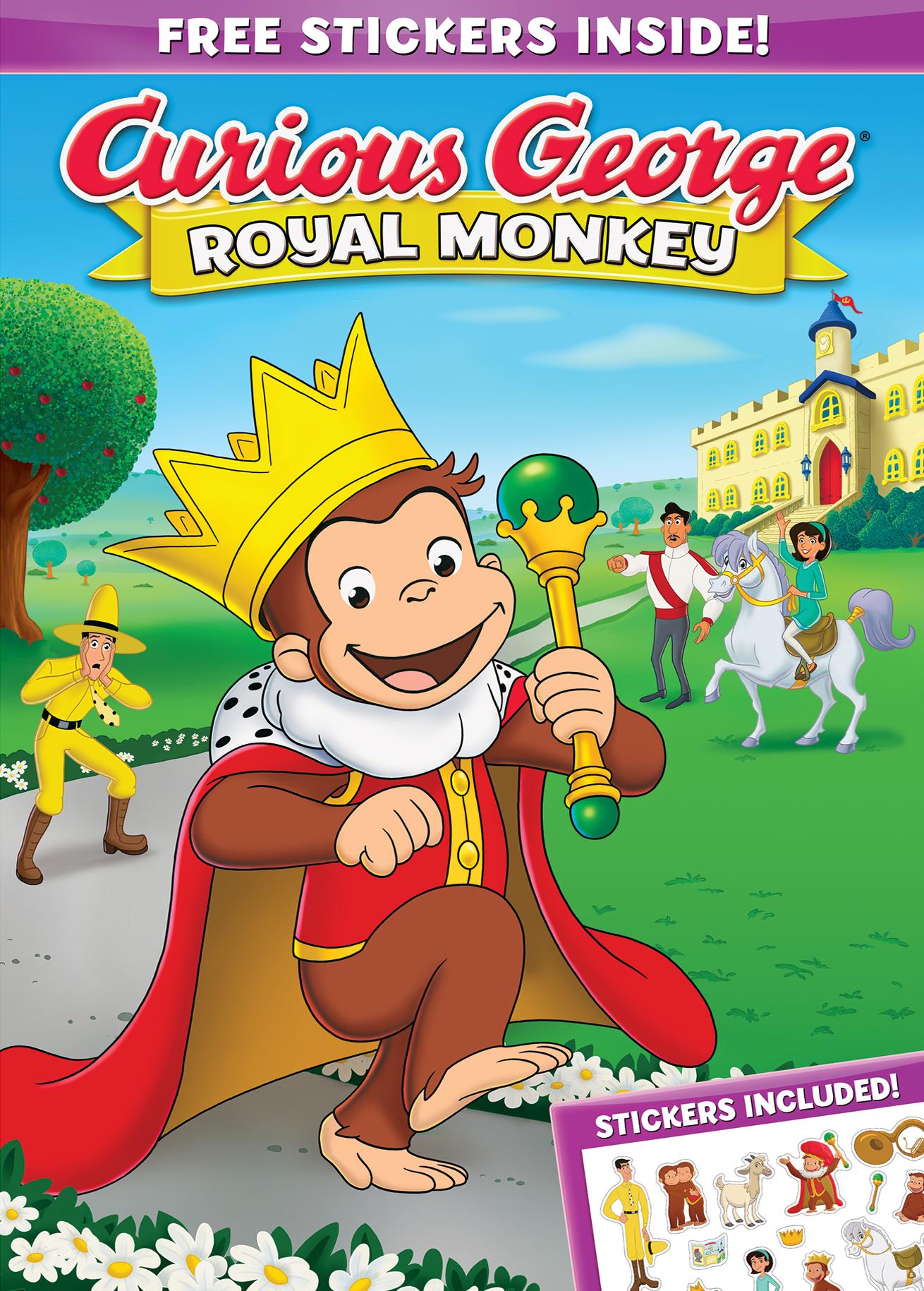 Curious George A Royal Monkey Dvd