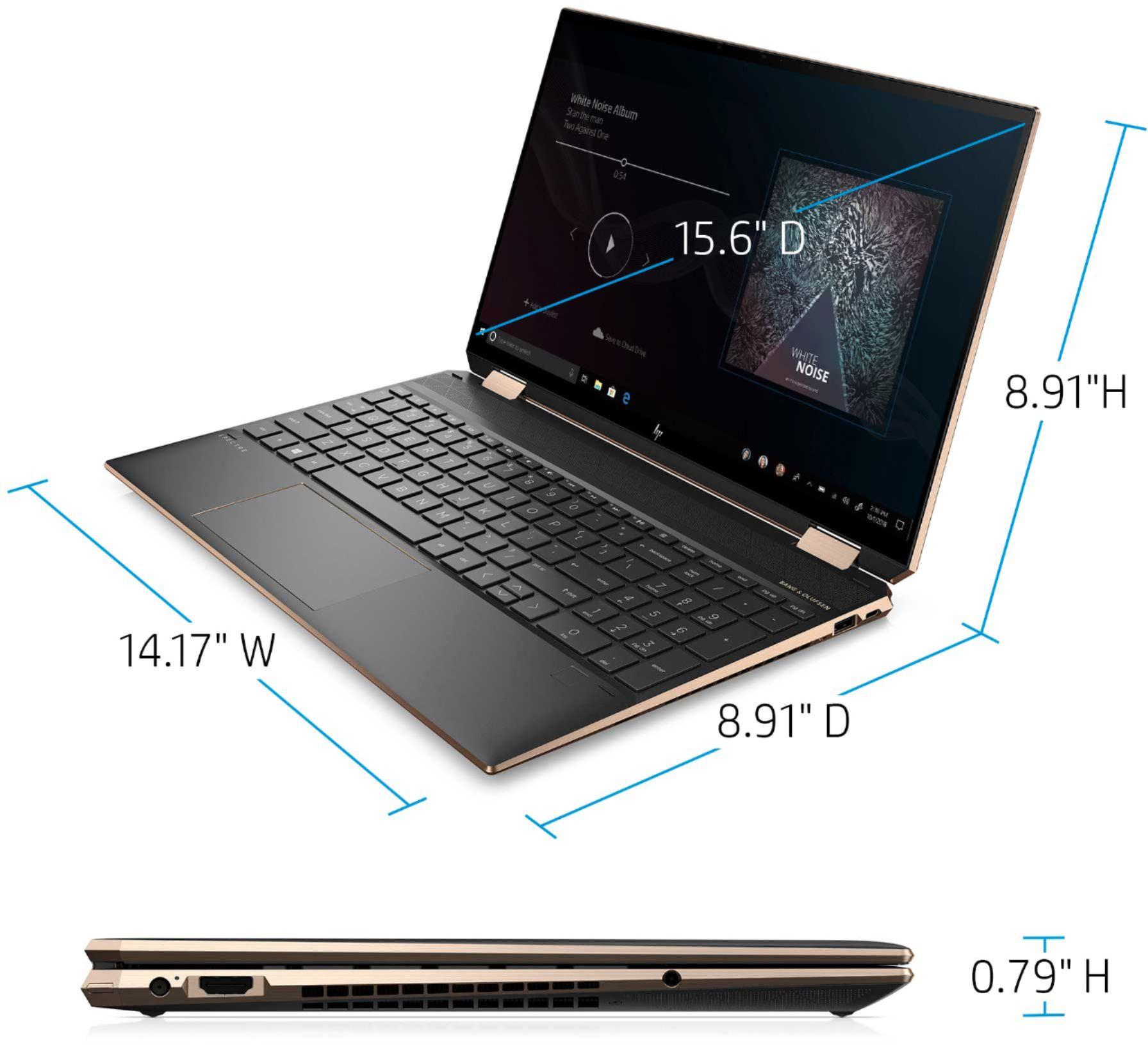 HP - Spectre x360 2-in-1 15.6