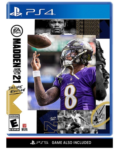 Madden NFL 21 Deluxe Edition - PlayStation 4, PlayStation 5