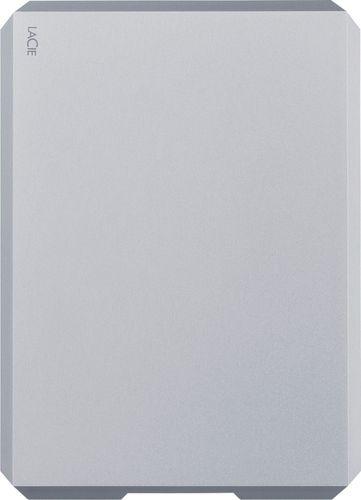LaCie - Mobile Drive 2TB External USB 3.1 Gen 2 Portable Hard Drive - Space Gray