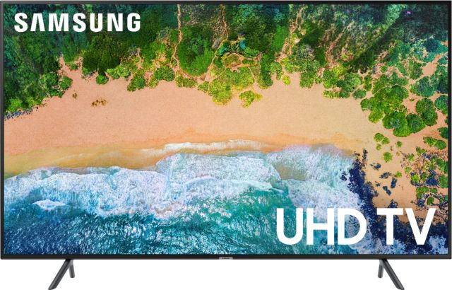 """Zoom in on Front Zoom. Samsung - 75"""" Class 6 Series LED 4K UHD Smart Tizen TV."""