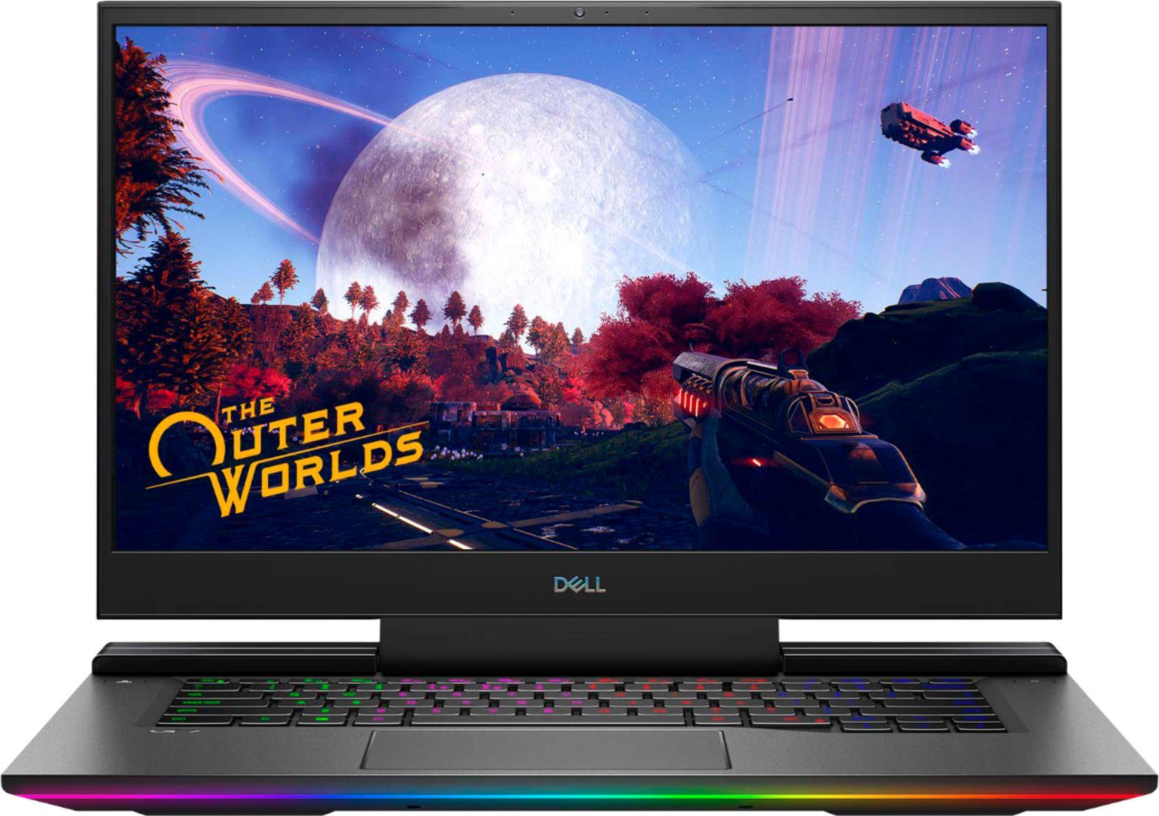 "Dell G7 15.6"" 4K Gaming Laptop OLED Intel Core i7 16GB Memory NVIDIA GEFORCE RTX 2070MQ 1TB SSD 4-Zone RGB Black G7500-7194BLK-PUS - Best Buy"