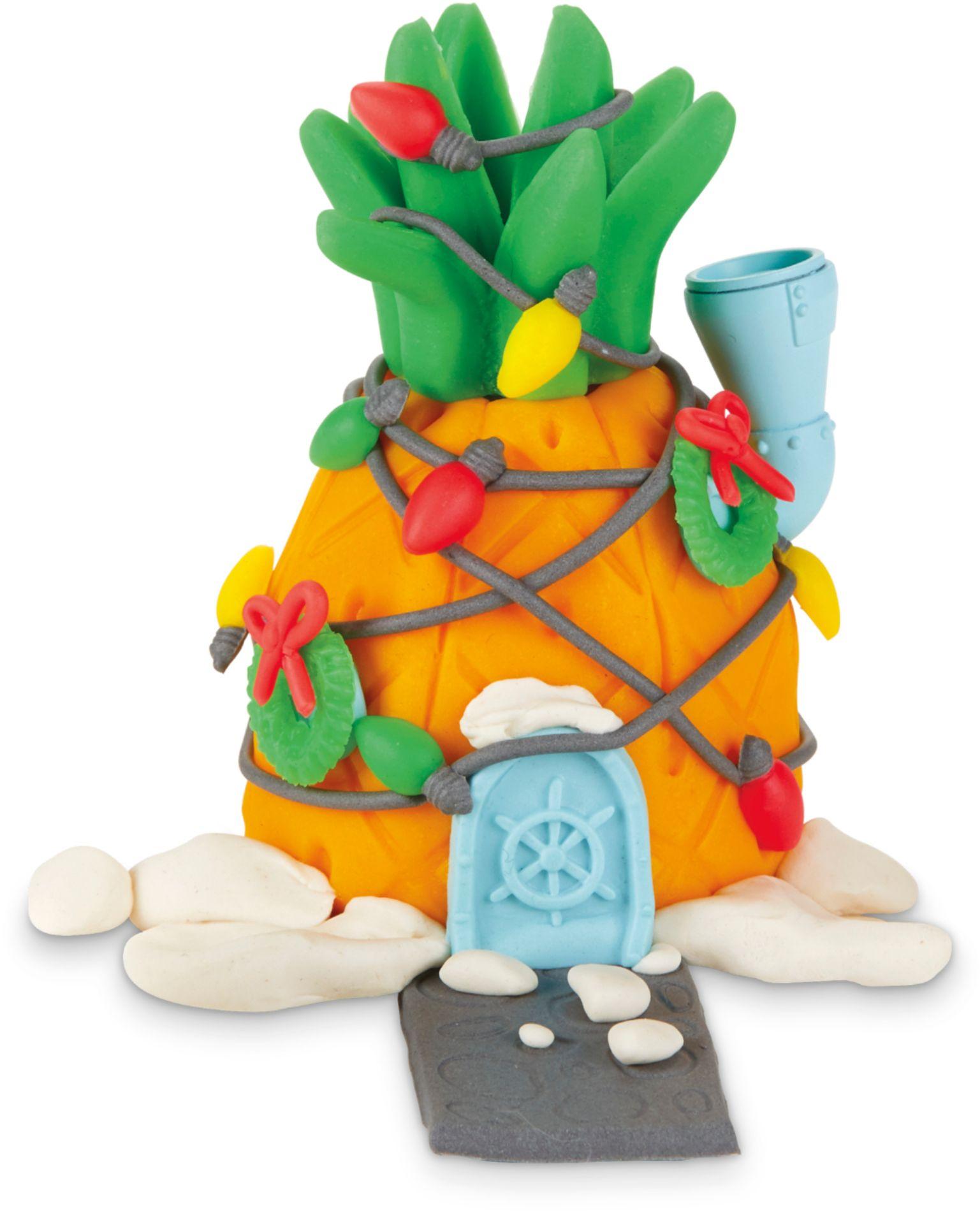 Spongebob Play-doh : spongebob, play-doh, Play-Doh, Builder, SpongeBob, SquarePants, SpongeBob's, Pineapple, House, E9047