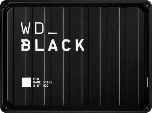WD - WD_BLACK P10 5TB Game Drive External USB 3.2 Gen 1 Portable Hard Drive - Black