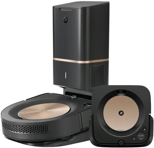 iRobot - Roomba® s9+ (9550) Robot Vacuum & Braava jet® m6 (6112) Robot Mop bundle - Black