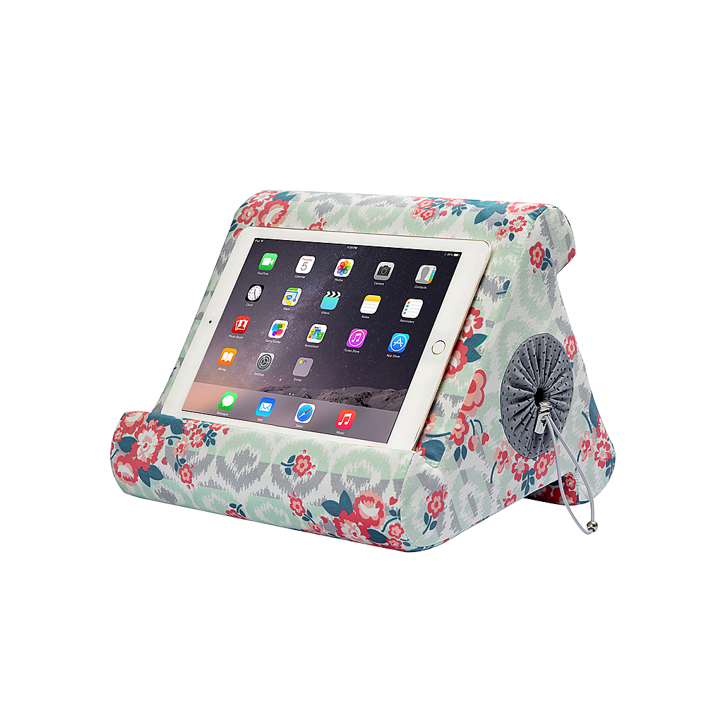 happy products flippy cubby multi angle soft stand for tablets e readers and books multi 25041vrp best buy