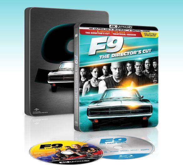 F9: The Fast Saga [SteelBook] [Digital Copy] [4K Ultra HD Blu-ray/Blu-ray] [Only @ Best Buy] [2021]