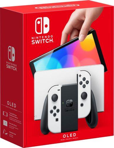 Nintendo Switch (OLED model) w/ White Joy-Con - White
