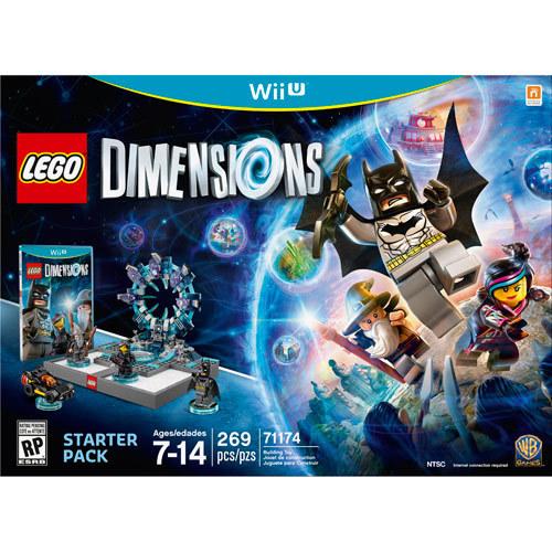 LEGO Dimensions Starter Pack - Nintendo Wii U - Larger Front