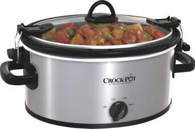 Crock-Pot SCCPVL400-S 4-Quart Cook and Carry Slow Cooker