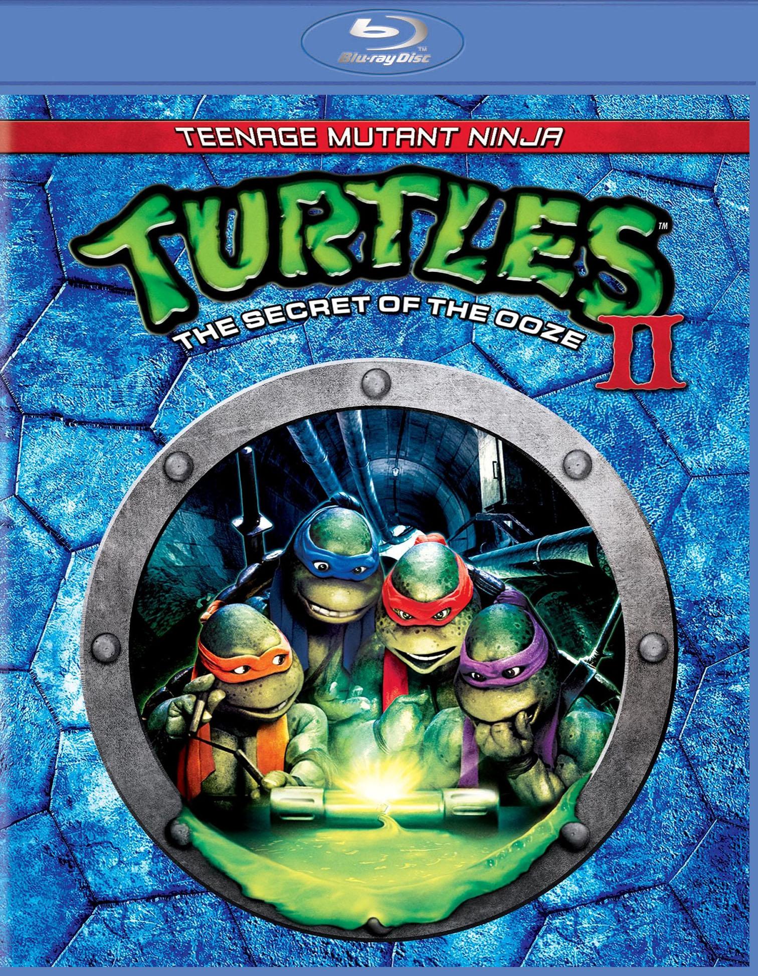 Secret Of The Ooze : secret, Teenage, Mutant, Ninja, Turtles, Secret, [Blu-ray], [1991]