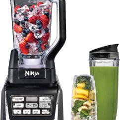 Ninja Kitchen Com Single Bowl Undermount Sink Nutri 72 Oz Blender Duo With Auto Iq Black Bl641 Best Buy