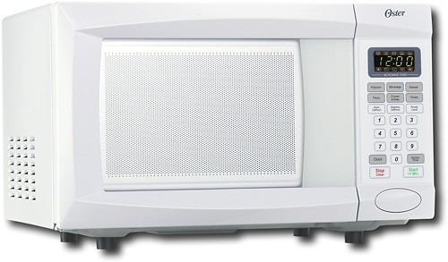 oster 0 7 cu ft compact microwave white