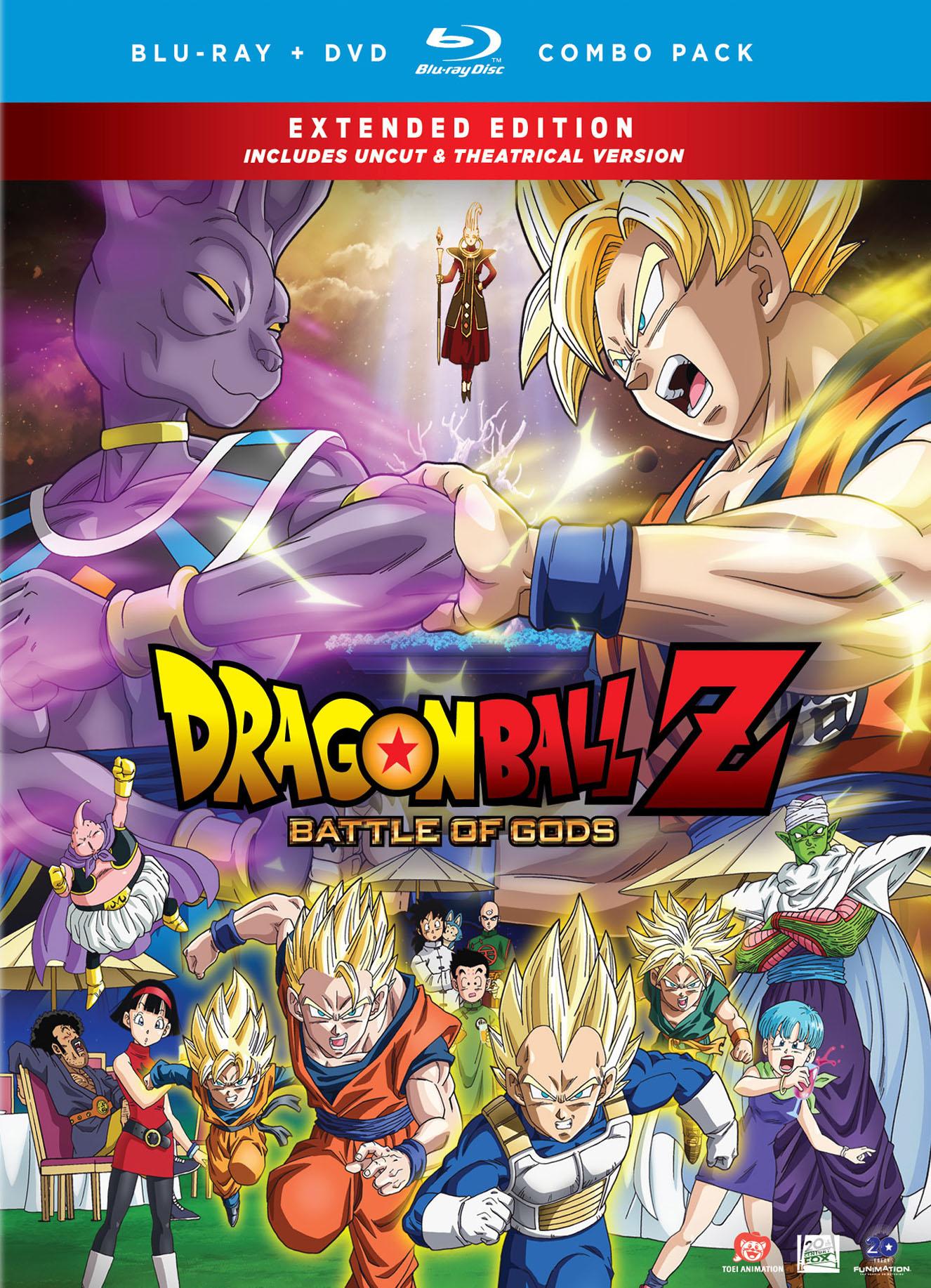 Dragon Ball Z : Battle Of Gods : dragon, battle, DragonBall, Battle, [Uncut/Theatrical], Discs], [Blu-ray/DVD]