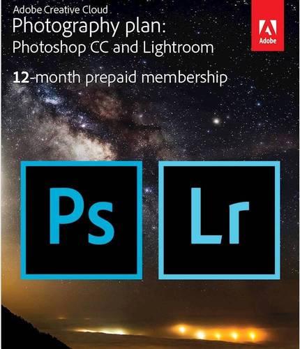 Adobe - Creative Cloud Photography Plan (1-Year Subscription) - Windows