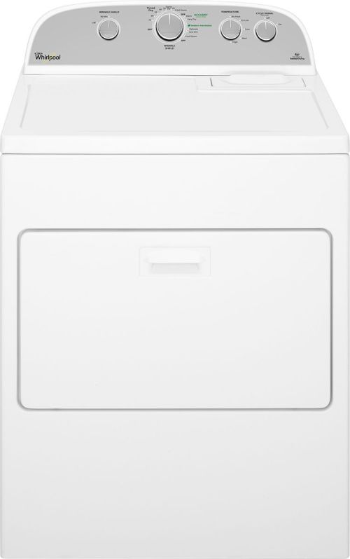 small resolution of whirlpool cabrio 7 0 cu ft 13 cycle electric dryer white wed5000dw best buy