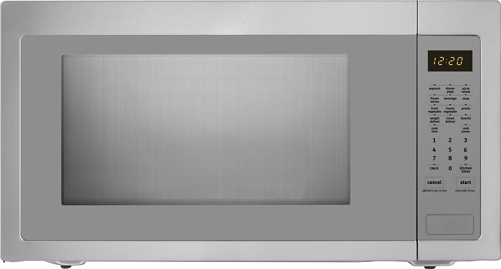 maytag 2 2 cu ft full size microwave stainless steel