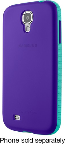 Belkin - Grip Candy Case for Samsung Galaxy S 4 Mobile Phones - Purple/Jade - Larger Front