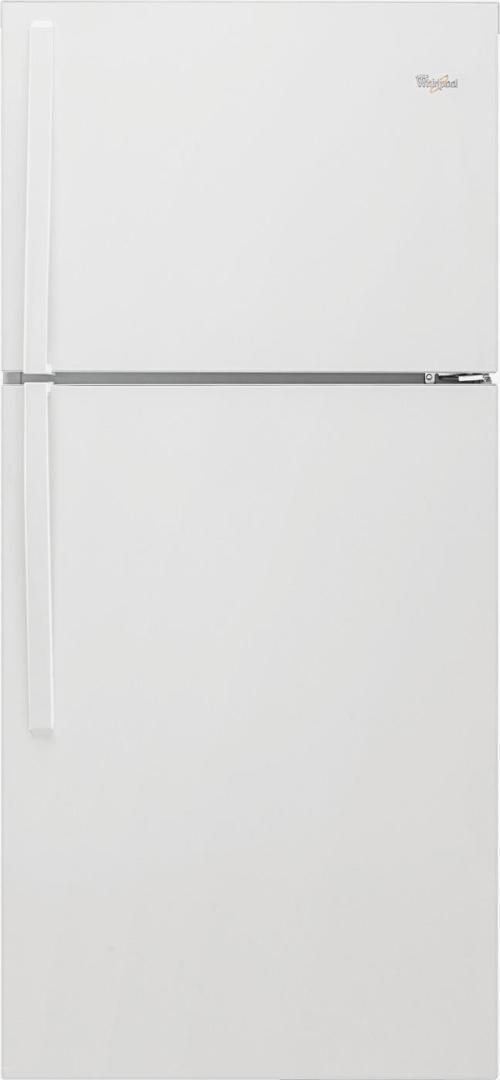 small resolution of whirlpool 19 3 cu ft top freezer refrigerator white wrt519szdw best buy