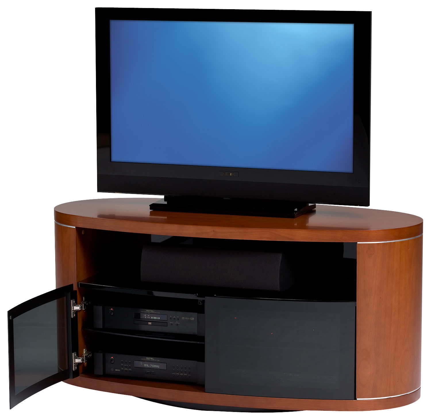 BDI Revo Swivel TV Stand for Flat-Panel TVs Up to 52