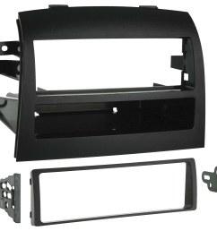 metra dash kit for select 2004 2010 toyota sienna black 99 8208 best buy [ 1500 x 1262 Pixel ]